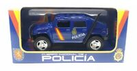 1/32 HUMMER POLICIA NACIONAL COCHE METAL COLECCION ESCALA  DIECAST