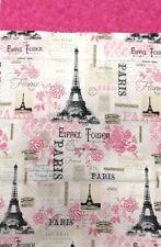 Parisian Dreams Handcrafted Unique Cotton Pillow Cases 2 Pack