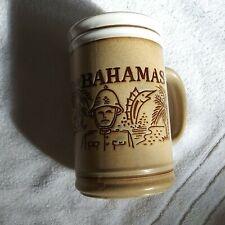 Bahamas Coffee/Tea Mug Cup White Rim Nautical Si1