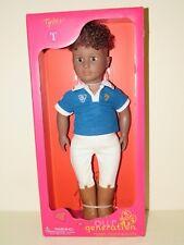 "OUR GENERATION Tyler 18"" African American BOY DOLL NIB New American Girl style"