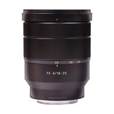Sony Vario-Tessar T * FE 16-35mm f/4 ZA OSS Lentes SEL1635Z