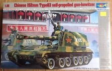 Trumpeter 1/35 00305 Chinese 152mm Self-propelled Howitzer New Sealed