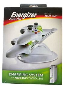 Energizer Power And Play Charging System For Xbox 360 Controllers