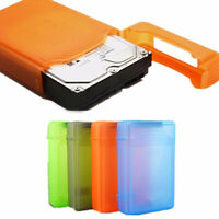 PLASTIC DUST PROOF IDE SATA HDD HARD DRIVE DISK STORAGE BOX CASE COVER 3.5INCH