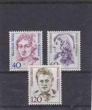 RFA 1987 FEMMES DE L' HISTOIRE ALLEMANDE  YT 1163 A 1165 TP NEUF