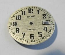 Watchmaker Watchmaking Dial Watch Curved Grey Reciprocating Diameter 1 5/32in