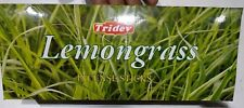 Tridev Lemongrass Fragrance Incense Sticks Agarbatti 6 BOXES (20 GM EACH)
