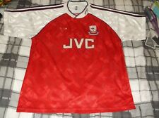 ARSENAL ADIDAS SHIRT 1990 42-44 INCH CHEST VERY GOOD CONDITION