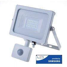 50w LED Proiettore con Sensore Samsung Chip Cut-off funzione Corpo Bianco 6400k
