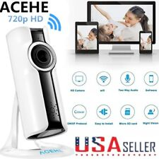 720P Home Wifi IP Wireless Surveillance Camera Remote Cam For Android iPhone APP