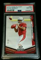 "PSA 10 1/1 KYLER MURRAY RC /99 *""1st Down"" *SSP ROOKIE *2019 Panini Playoff #201"