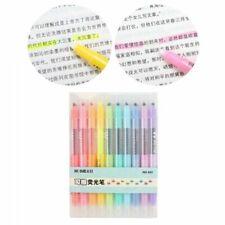 10Pcs Double-end Erasable Pastel Liquid Chalk MarkersHighlighter Pen Markers