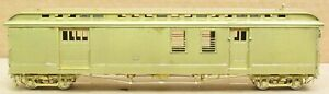 Precision Scale Co. - D&RGW 48' Postal (RPO) & Baggage Car *BRASS* Sn3/S-Scale