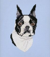 Boston Terrier Counted Cross Stitch Kit by Pegasus Originals, Inc