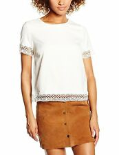 New Look Lace Short Sleeve Tops & Shirts for Women