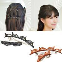 Braided Bangs Hairstyle HairpinHeadgear Women Girls Hairclip