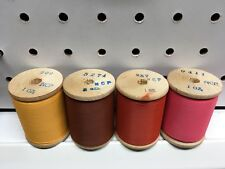 Lot of 4 Gudebrod Fishing Rod wrapping thread. 4 1 Oz Spools. Ncp thread