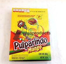 De La Rosa Pulparindo Mango Tamarind Pulp Mexican Candy 20 pcs Hot and Salt