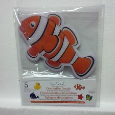Splash Collection Decorative Bathtub Decals (Nemo) (5 total)