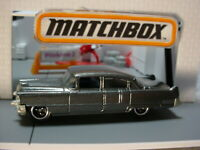 2017 Multi Pack Exclusive 1955 CADILLAC FLEETWOOD ☆gray☆Loose☆Matchbox World