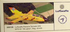 "Herpa 1:200  -  Luftwaffe Panavia Tornado  ""50 Jahre""   -     555135"
