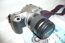 Camera  CANON EOS 500N + Canon 1:3.5-5.6 II 28-80mm lens + info  ..  C1