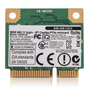 Mini WiFi PCI-E Netzwerkkarte Dual Band 2,4-G WLAN Bluetooth 2 in 1 Karte nue