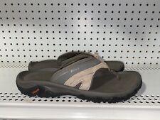 Teva Pajaro Mens Rubber Thong Sandals Slides Flip Flops Size 11 Brown
