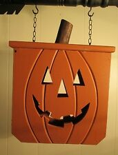 """""""PUMPKIN BOX"""" Replacement Sign - Wood Sign for Country Arrow Holders"""