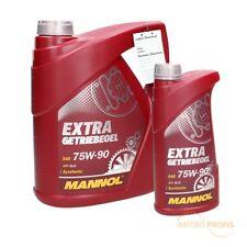 5 (4+1) Liter Mannol SAE 75W-90 Extra Getriebeöl API GL 4/GL 5 LS