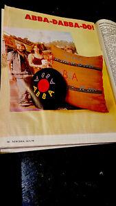 ABBA Abba-Dabba-Do Cushion Patterns-January 1978-New Idea-Australia-Rarest-Copy!