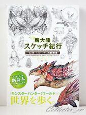 3 - 7 Days JP | Monster Hunter World Editor's Sketch Art Book