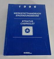 Workshop Manual/Repair Manual Chrysler Stratus Cabriolet Stand 1996