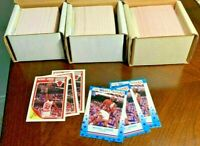 1989-90 Fleer Basketball Card Complete Set with Stickers ~ NBA Warehouse Find!