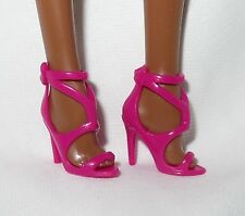 SHOES ~BARBIE BASIC DOLL MODEL MUSE PINK SANDALS THE LOOK MATTEL HIGH HEEL