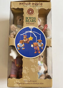 BOYDS BEARS & And Friends Musical Mobile Baby Lullaby Works But Incomplete