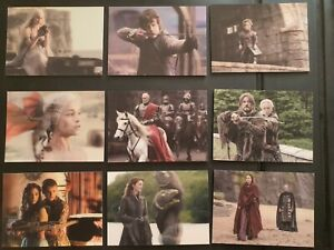 Game of Thrones Valyrian Steel, 3D Lenticular Chase Card Set L1-18