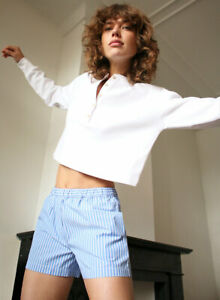 Aritzia Wilfred Mavis white cropped shirt size XXS