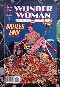 Wonder Woman 1987 #104 105 109-112 DC Comics JLA Flash Batman Sinestro Doomsday