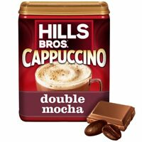 ( 10 Cans ) Hills Bros Double Mocha Cappuccino Chocolate Beverage Coffee 16 oz