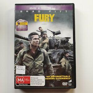Fury | DVD Movie | Brad Pitt, Shia LaBeouf, Logan Lerman| War/Action | 2014