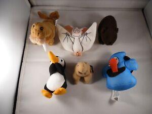 Stuffed Animal Doll Plush Lot (6)