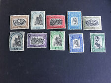 PORTUGAL SC#437-448(LESS 441,444) THIRD INDEPENDANCE ISSUE