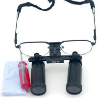 6.0X 420mm Dental Binocular Loupes Medical Surgical Loupes Dentist Magnifier