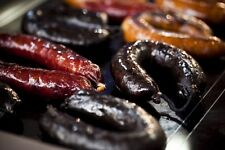 250gr SEASONED(CUMIN) Portuguese BLACK PUDDING / MORCELA * Award winning sausage