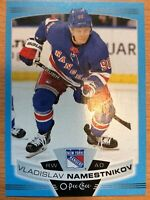 O-Pee-Chee 2019-2020 VLADISLAV NAMESTNIKOV BLUE BORDER HOCKEY CARD #77