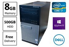 DELL Optiplex 790 Desktop Computer - Cheap Quad Core i7 PC - 8GB RAM - 500GB HDD