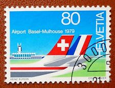 SWITSERLAND 1979 - Y.&T. 1079 - LUCHTHAVEN BASEL-MULHOUSE   - USED