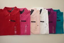 NWT Tommy Hilfiger Easy Fit Polo Shirt For Women Last Ones! Sale Price!