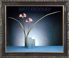 Nerine Lilies Flowers Floral Still Life Fine Wall Decor Mahogany Framed Picture